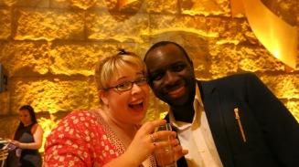 Dani Fecko and Butshilo Nleya